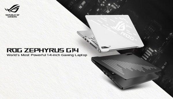 ASUS ZEPHYRUS GA401LH RYZEN 7.4800/ 8GB/ 512 SSD/GTX 1650 4GB/ WIN10/ 14.1